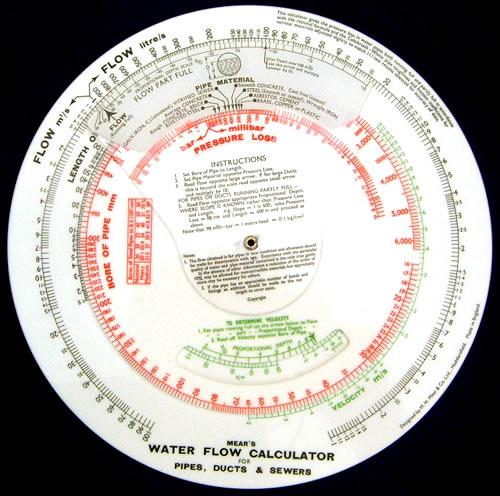 Water Flow Calculator